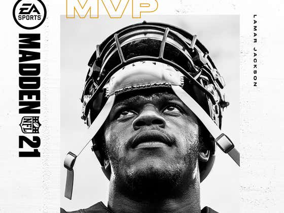 "Madden 21's Lamar Jackson ""MVP Edition"" Cover Is A Thing Of Beauty"