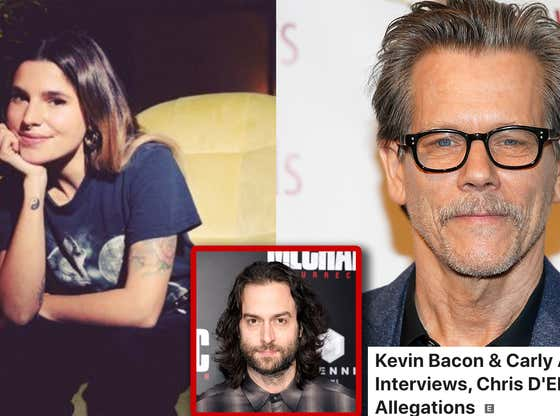 KFC Radio: Kevin Bacon & Carly Aquilino Interviews, Chris D'Elia's Many Allegations