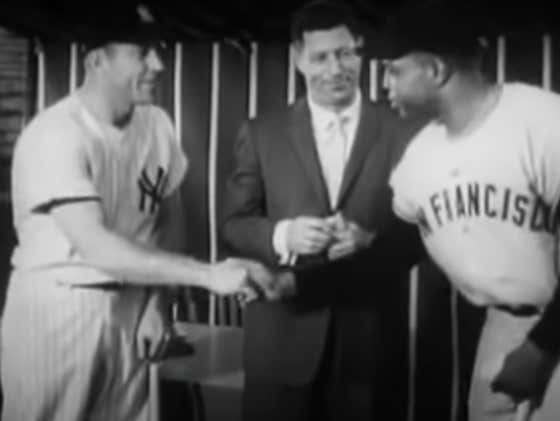 Mickey Mantle and Willie Mays Facing Off In a 9 Inning Home Run Derby Is Incredible To Watch 60 Years Later
