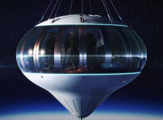For The Low Low Price Of $125,000 Idiots Can Take A Two Hour Trip To Space Via A Balloon