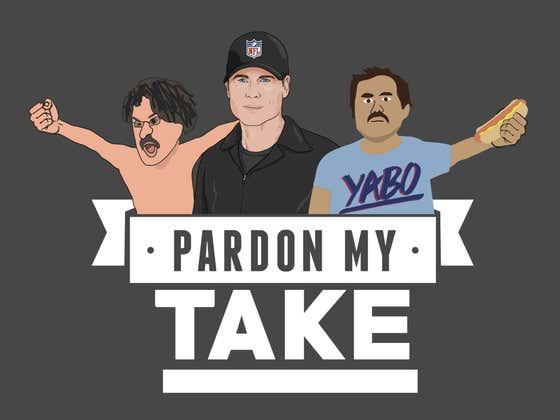 PMT: Rob Lowe, The Mt Rushmore Of Stadium Jams + Monday Reading