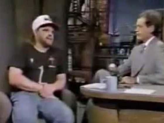 Wake Up With John Kruk On David Letterman
