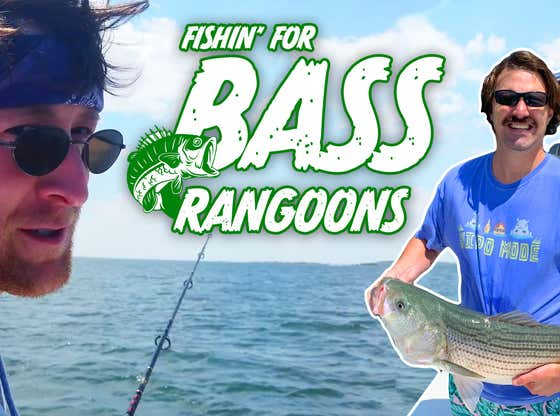 FISHING FOR BASS RANGOONS Feat. PAT