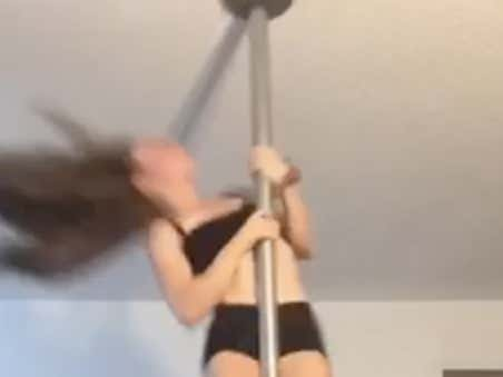 Takes One Pole Dancing Class