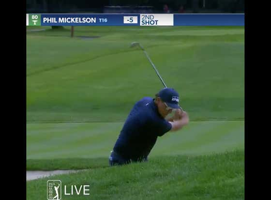 Phil Mickelson Holing A Bunker Shot While Wearing Aviators Is So Fucking Cool