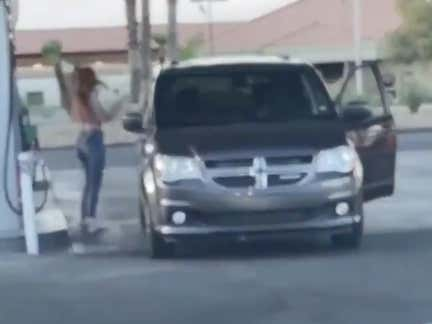 Watching This Lady Try To Pump Gas Is The Number 1 Internet Video Of The Year
