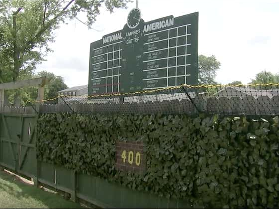 Illinois Teenager Builds Replica Wrigley Field For Wiffle Ball In His Backyard
