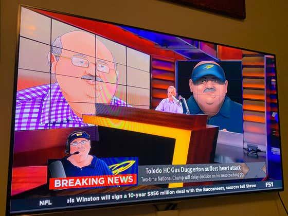 Breaking News - Coach Duggs Has Suffered A Massive Heart Attack