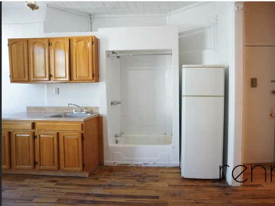 For The Low Low Price Of $1,650 A Month You Can Live In This Brooklyn Apartment With A Shower In The Kitchen