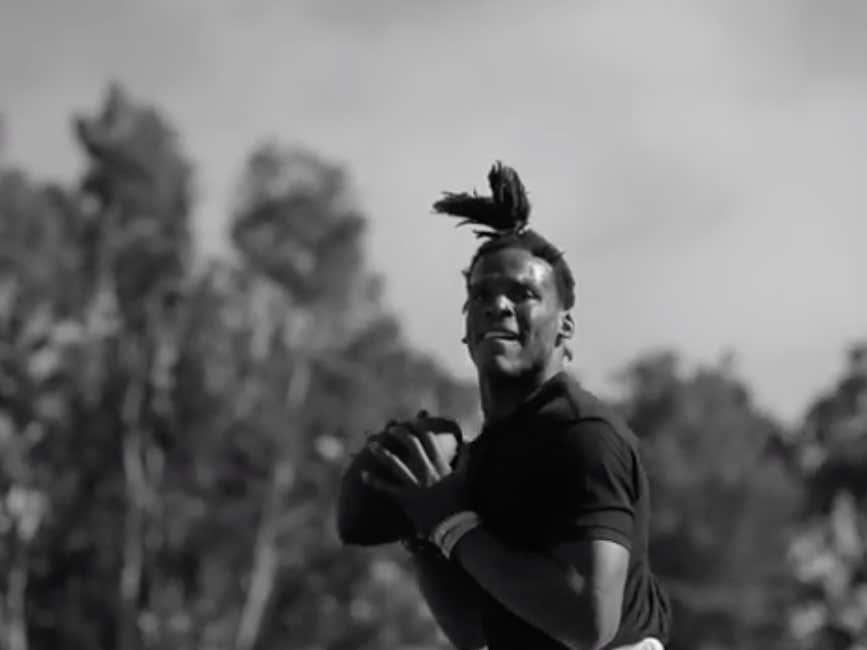 Cam Newton Dropped A Late Night Hype Video Training With Mohamed Sanu And It Has Me Tingly All Over