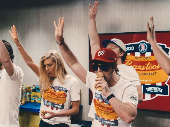 PHOTOS: The Barstool Hot Dog Eating Contest presented by Twisted Tea and Dude Wipes