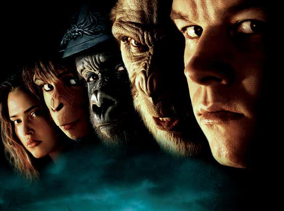 Was Mark Wahlberg 'Planet Of The Apes' The Worst Movie Of Tim Burton's Career?