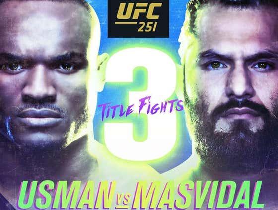Let's Discuss Kamaru Usman vs Jorge Masvidal
