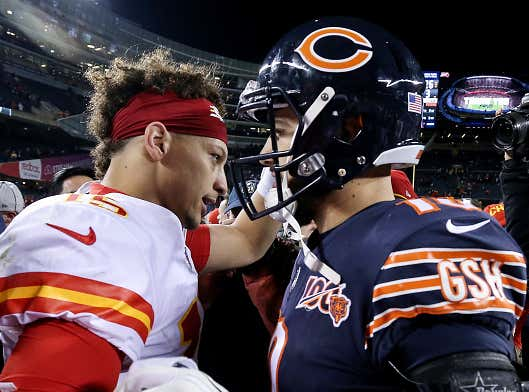 How Many Different Starting Quarterbacks Will Play For The Bears By The Time The Mahomes Deal Expires