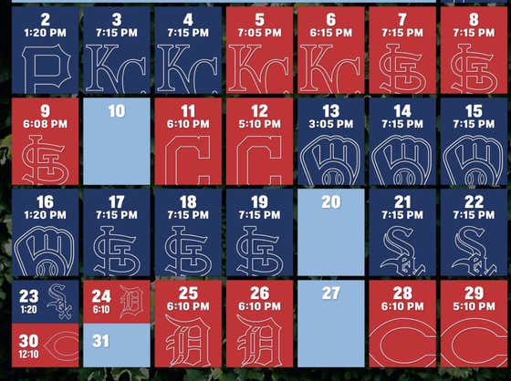 Breaking Down The Cubs Schedule Despite Overwhelming Pessimism That MLB Makes It Through 2020