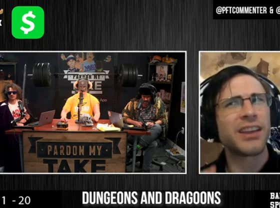 PMT: Mega Dungeons & Dragons and Stephen A Smith Is Horny Again