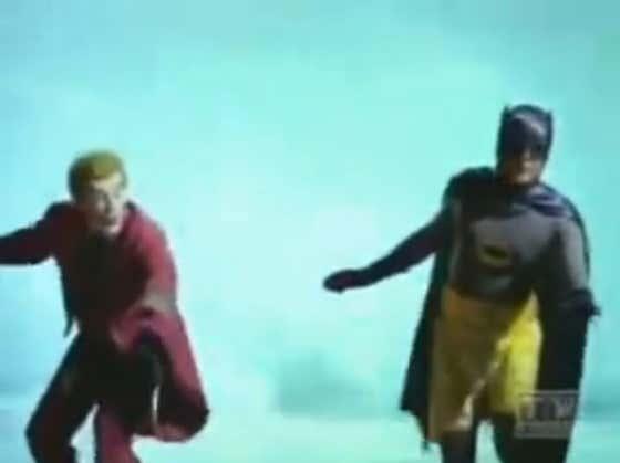 Wake Up With Batman & Joker Surfing