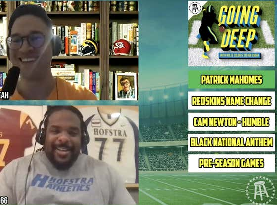 The Going Deep Pod Reacts to Patrick Mahomes Extension, Pre-Season Games Getting Cut In Half, Cam Newton Arriving In New England & more...