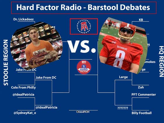 Barstool Debates: PFT v. Billy Football
