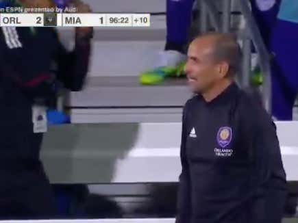Late goal for Orlando City hits o2.5 goals for the game @betthefooty
