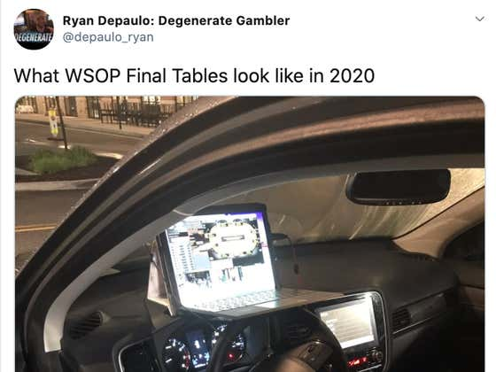 Poker Player Ryan Depaulo Won A WSOP Bracelet From His Car In A New Jersey Whole Foods Parking Lot
