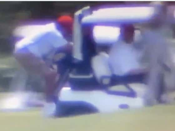 President Trump's Caddie Goes For A WILD Ride On Golf Cart 1