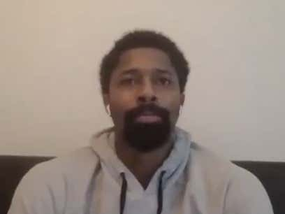 """""""Don't Fly That LA Work Out"""" - Spencer Dinwiddie Had Some Interesting Advice For Players In The Bubble"""