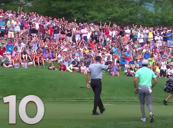 Tiger Woods' Top 10 Shots At Muirfield Village Take Us Into The Weekend