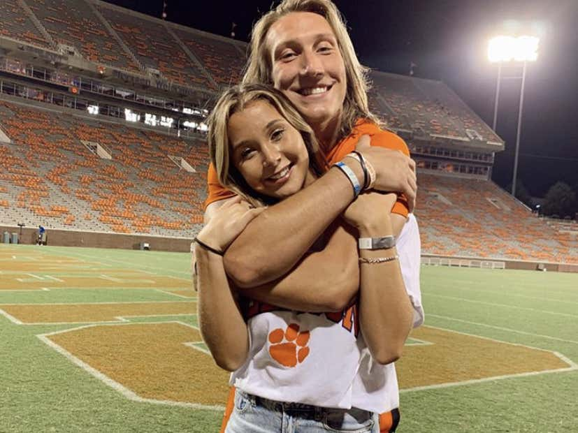 Trevor Lawrence Is Engaged | Barstool Sports