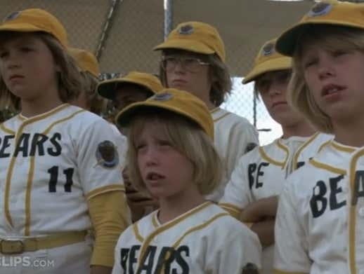 Wake Up With 'The Bad News Bears' Ending