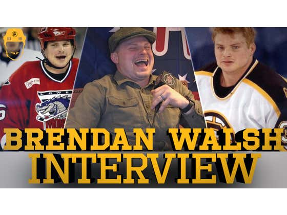 Spittin' Chiclets Interviews Brendan Walsh - Full Video Interview