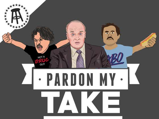 PMT: Creed Bratton, Slim Melo And Mt Rushmore Of Things That Happened Since Sports Were Cancelled