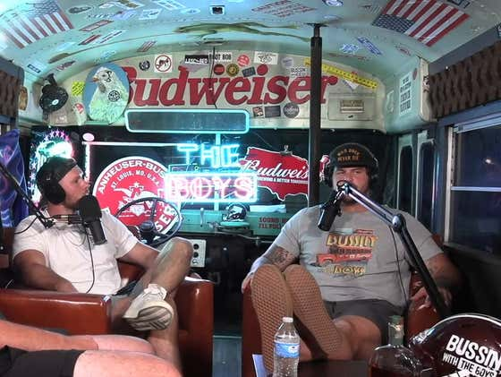 FULL VIDEO: Bussin' With The Boys - Corona Pod 2