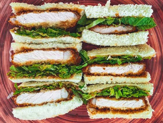 Japanese Katsu Sandwich | The Quarantine Cook