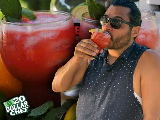 20 Dollar Chef - Watermelon Tequila Punch