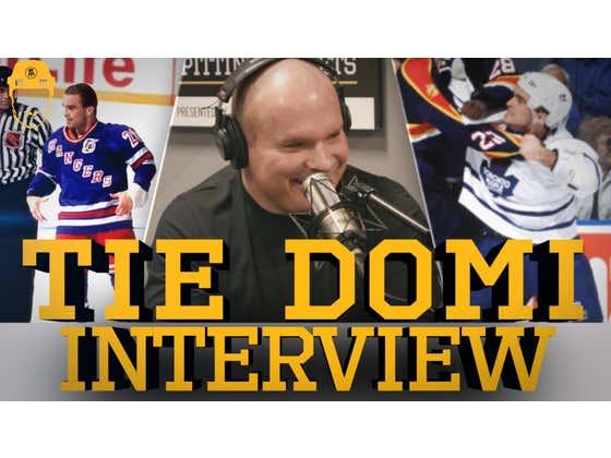 Spittin' Chiclets Interviews Tie Domi - Full Video Interview