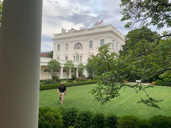 Photos From The Barstool White House Visit