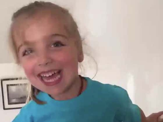 Little Girl With Cerebral Palsy Climbs The Stairs Like A Champion