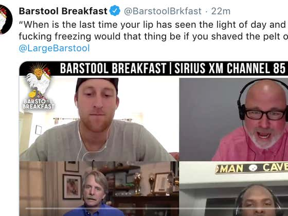 Full Jeff Foxworthy Interview From This Morning's Barstool Breakfast
