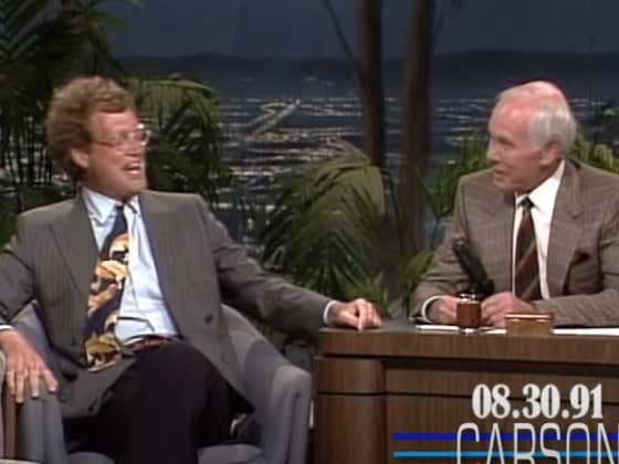 Wake Up With David Letterman On Johnny Carson