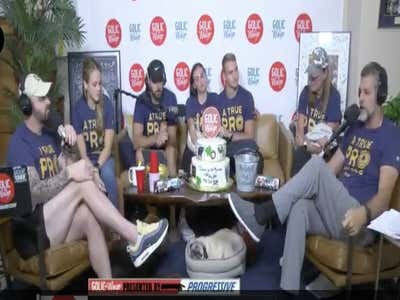Friday Cryday: Lets Watch Mike Golic Jr. Tearfully Talk About His Dad During Golic's Last Day On Radio