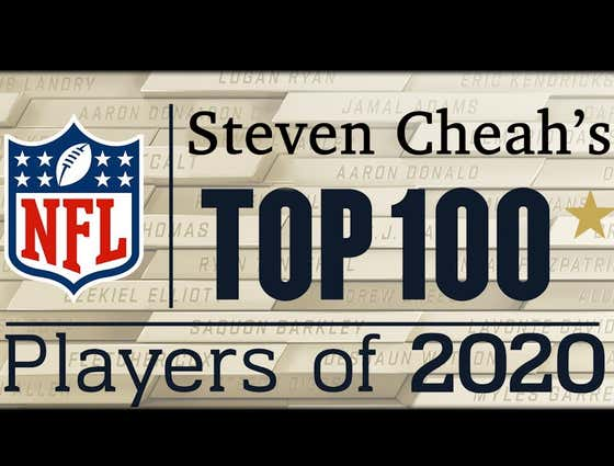 Steven Cheah's NFL Top 100 Players in 2020: #11 - #40