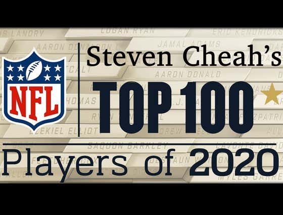 Steven Cheah's NFL Top 100 Players in 2020: #71 - #100