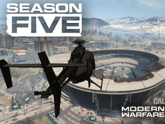 Will Warzone Season 5 Be The #1 Gaming Experience We'll Have Until This Winter?