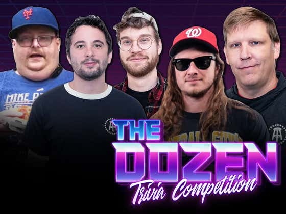 Trivia Rivalry Renewed As Brandon & PFT Battle Nick, KB, Frank The Tank (The Dozen presented by cbdMD: Episode 031)