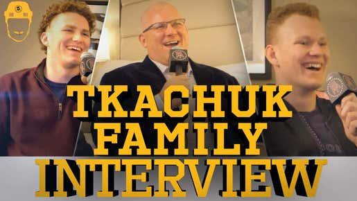 Spittin' Chiclets Interviews The Tkachuk Boys - Full Video Interview