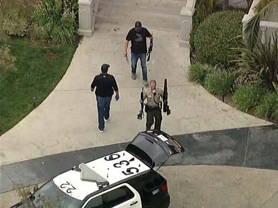 Jake Paul's Mansion Just Got Raided By The FBI (LOL?)