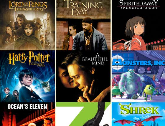 Which Three 2001 Movies Would You Delete FOREVER?