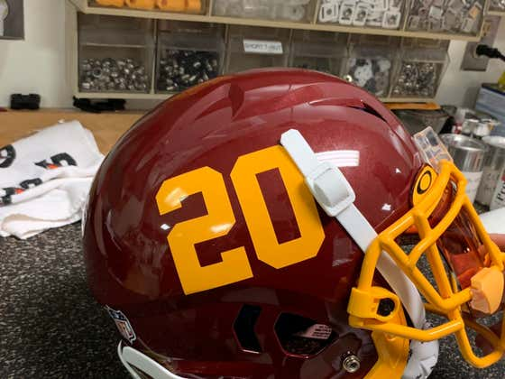 The Washington Football Team's New Helmet Design Is Objectively Awesome