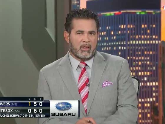 Ozzie Guillen Found Out He Wasn't Being Considered For White Sox Manager Job While He Was Taking A Shit